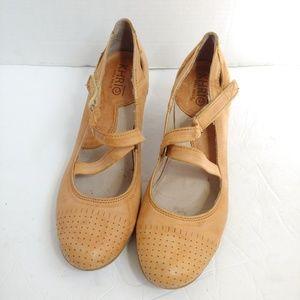Anthro Krio vera pelle Mary Jane heels